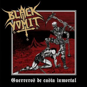Black Vomit 666(Bogota)Portadas de Discos de Black Thrash Metal