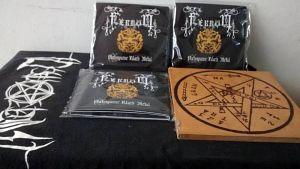 Fernom(Bogotá)Portadas de Discos de Prehispanic Black Metal