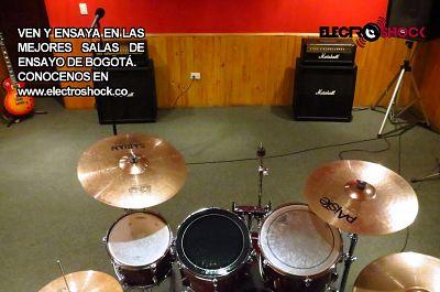 Electroshock, Salas de Ensayo Bogota y Estudios de Grabación Bogota.