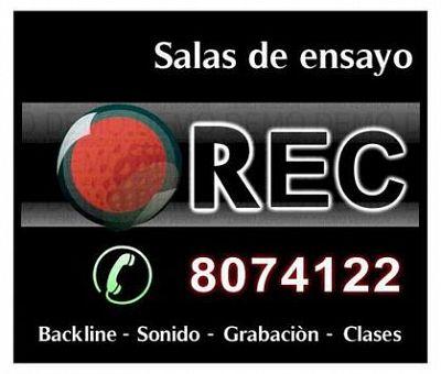 Rec, Salas de Ensayo Bogota y Estudios de Grabación Bogota.