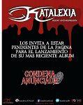 Lanzamiento Álbum Condena Anunciada de Katalexia