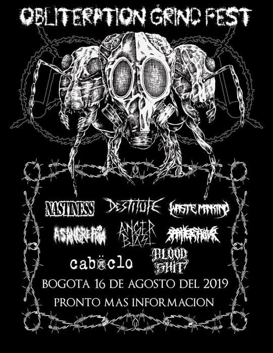 Evento Obliteration Grind Fest 2019|Conciertos, Festivales.