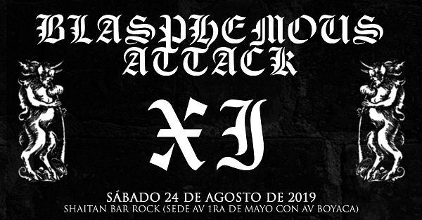 Evento Toque En Shaitan Bar Rock Blasphemous Attack Xi|Conciertos, Festivales.