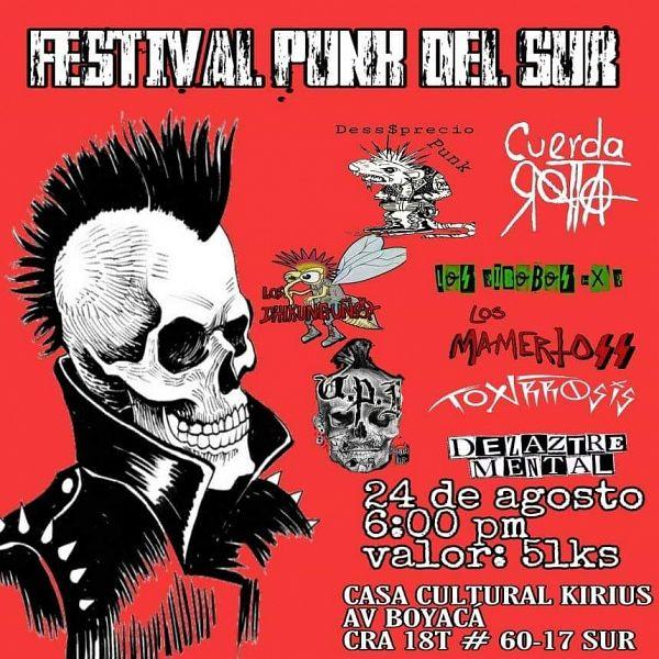 Evento Festival Punk Del Sur|Conciertos, Festivales.