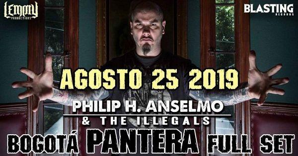 Evento Pantera Phil Anselmo And The Illegals|Conciertos, Festivales.