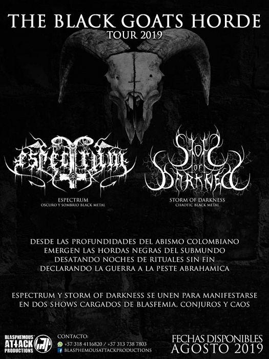 Evento The Black Goats Horde Tour 2019|Conciertos, Festivales.