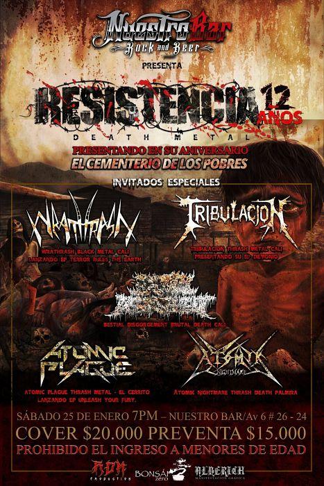 Evento Aniversario 12 Banda Resistencia|Conciertos, Festivales.