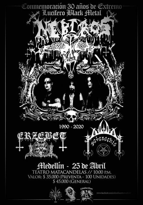 Evento Aniversario 30 Extremo Lucifero Black Metal|Conciertos, Festivales.