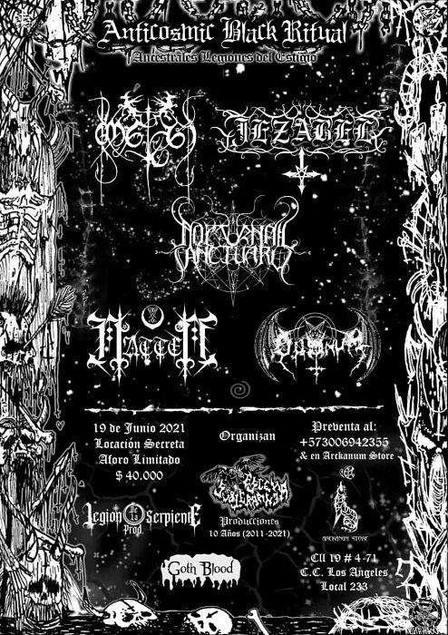 Evento Anticosmic Black Ritual|Conciertos, Festivales.