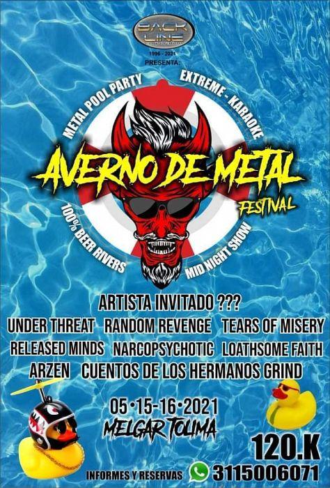 Evento Averno De Metal Festival Vol 1|Conciertos, Festivales.