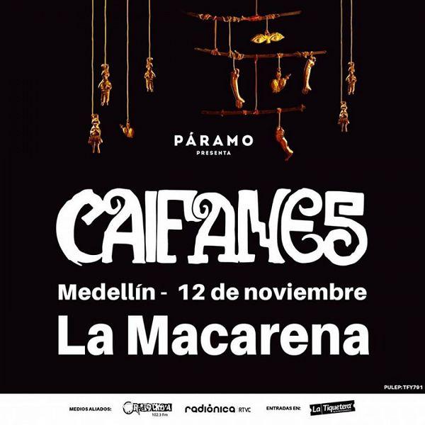 Evento Caifanes En Colombia|Conciertos, Festivales.