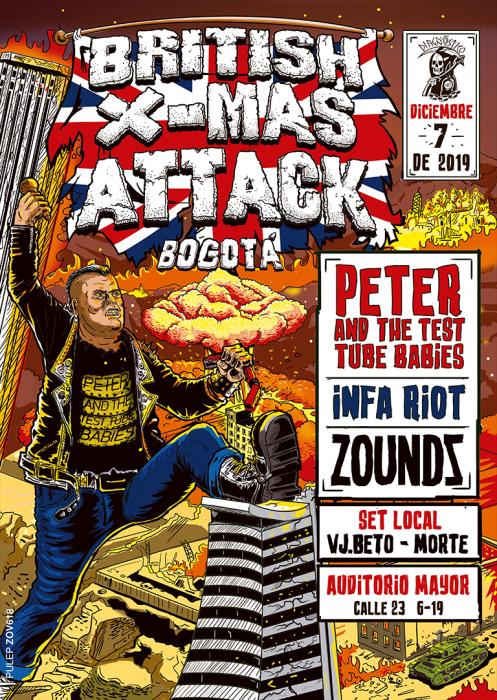 Evento British X Mas Attack|Conciertos, Festivales.