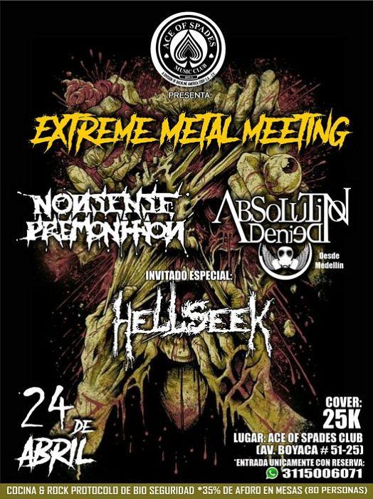 Evento Extreme Metal Meeting Conciertos, Festivales.