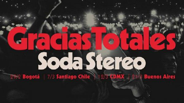 Evento Gracias Totales Soda Estereo 2020 Conciertos, Festivales.