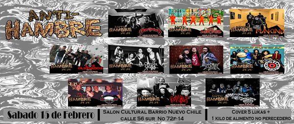 Evento Festival Anti Hambre Resistencia Punk Metal En El Olarte|Conciertos, Festivales.