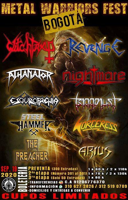 Evento Festival Metal Warriors|Conciertos, Festivales.