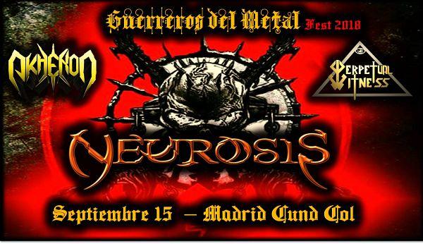 Evento Guerreros Del Metal Fest 2018, Bandas Colombianas