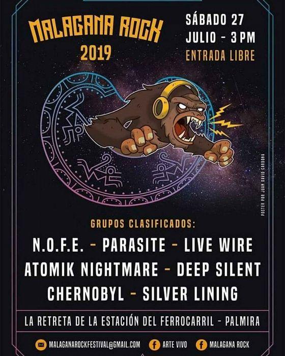 Evento Malagana Rock 2019|Conciertos, Festivales.