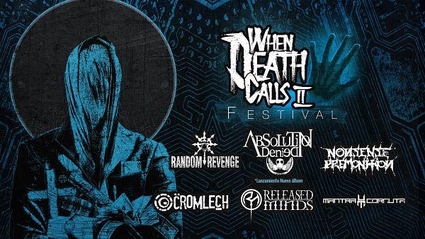 Evento When Death Calls 2 Festival Sala Bombay|Conciertos, Festivales.