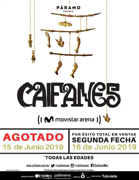 Evento Caifanes En La Movistar Arena De Bogota Colombia|Conciertos, Festivales.
