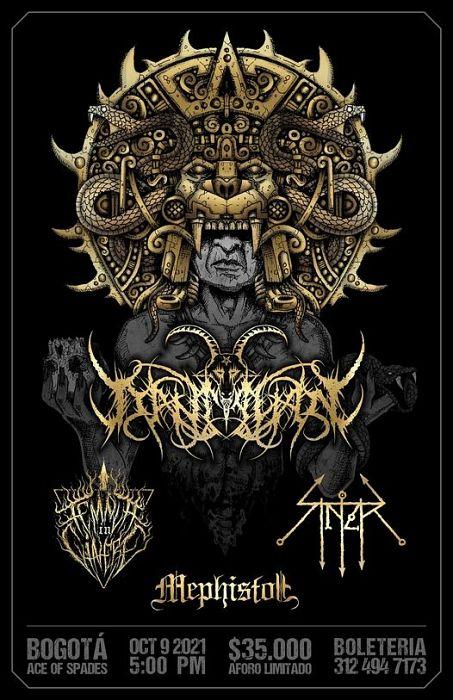 Evento Lanzamiento Disco De Black Metal Colombiano Conciertos, Festivales.