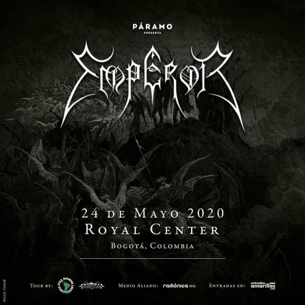 Evento Emperor En Colombia 2020 Conciertos, Festivales.