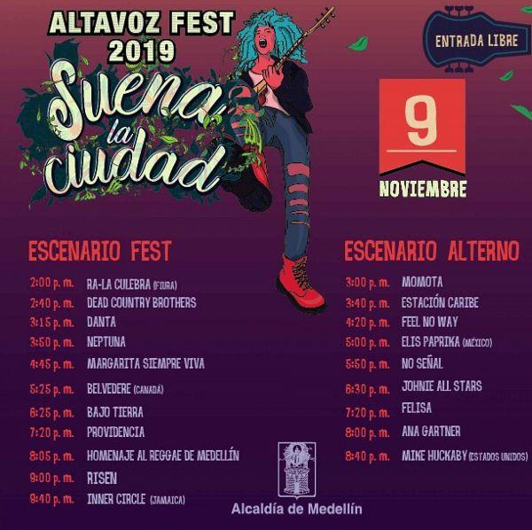 Evento Altavoz Fest 2019|Conciertos, Festivales.