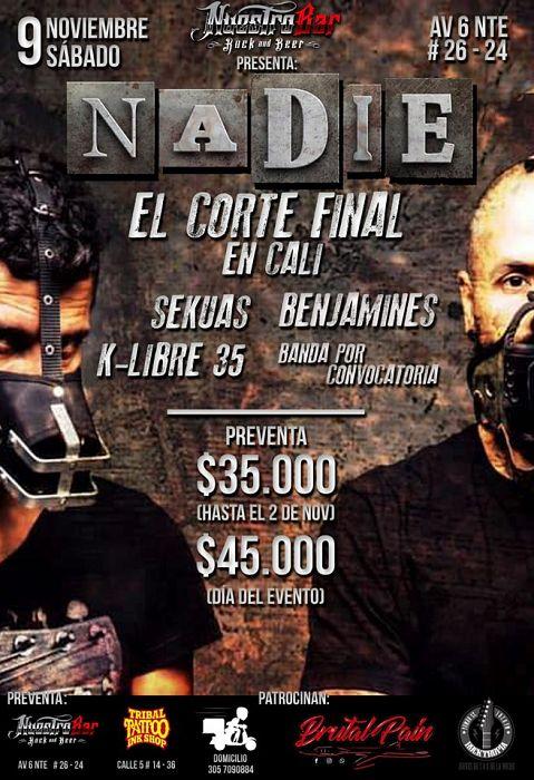 Evento El Corte Final|Conciertos, Festivales.