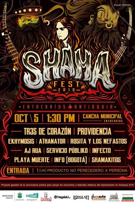 Evento Shama Fest 2019|Conciertos, Festivales.