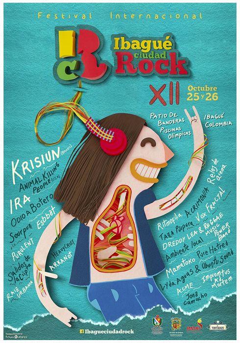 Evento Ibague Ciudad Rock 2019|Conciertos, Festivales.