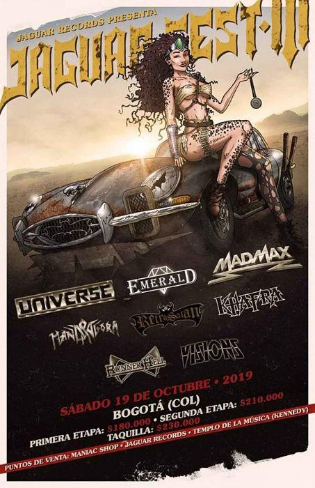 Evento Jaguar Fest 3 Bandas De Heavy Metal|Conciertos, Festivales.