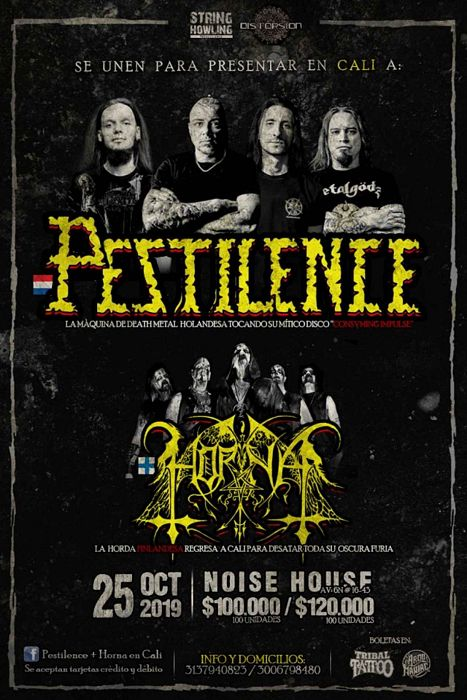 Evento Horna De Finlandia En Distorsion Bar|Conciertos, Festivales.