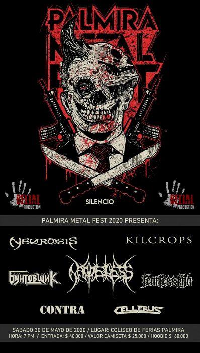 Evento Palmira Metal Fest 7|Conciertos, Festivales.