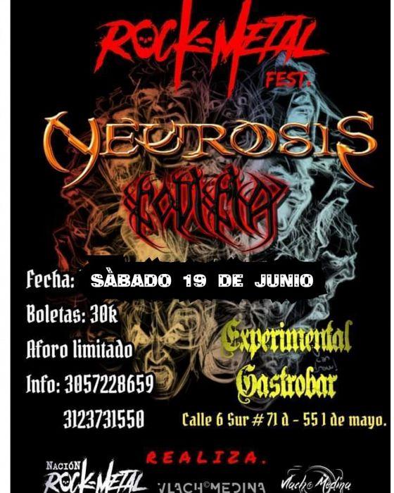 Evento Rock Metal Fest|Conciertos, Festivales.