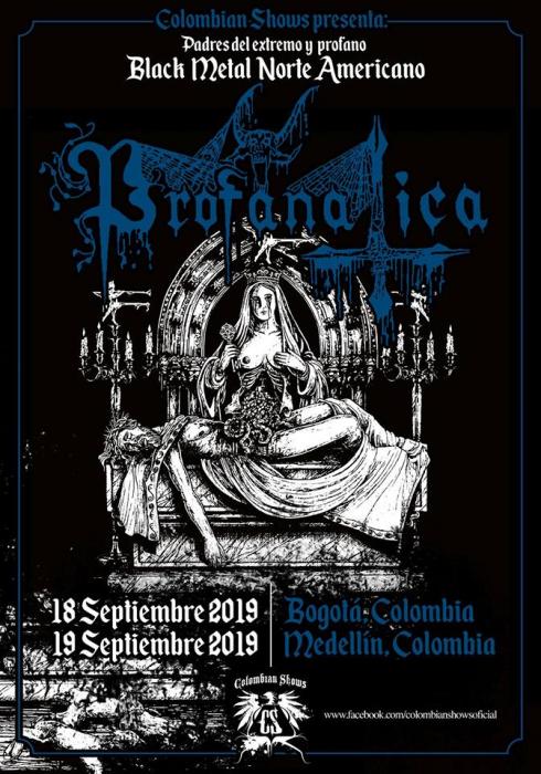 Evento Profanatica En Colombia Gira Latinoamericana 2019|Conciertos, Festivales.