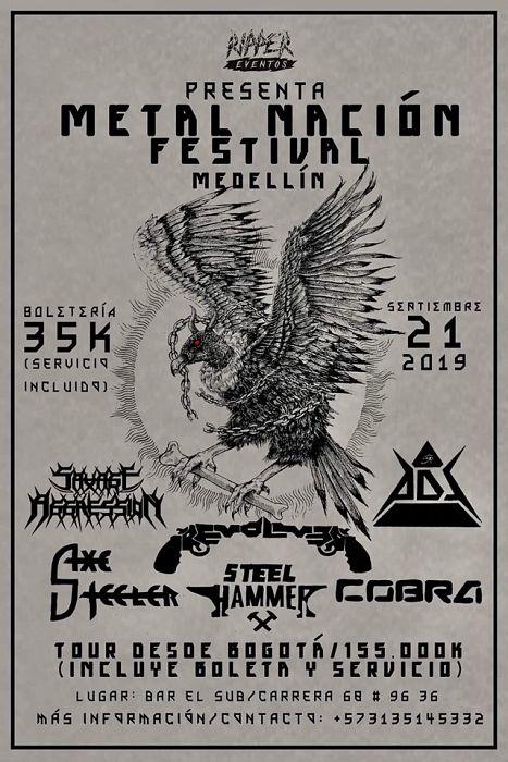 Evento Ripper Eventos Presenta Metal Nacion Festival|Conciertos, Festivales.