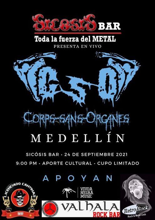 Evento Sicosis Bar Toda La Fuerza Del Metal|Conciertos, Festivales.