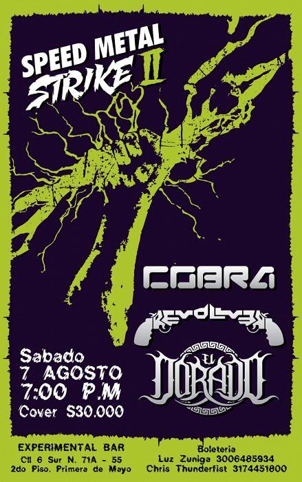 Evento Speed Metal Strike 2|Conciertos, Festivales.
