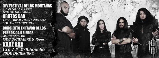 Abandon Light, Imagenes de Bandas de Metal & Rock Colombianas
