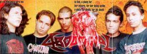 abdominal Bandas de Thrash Metal