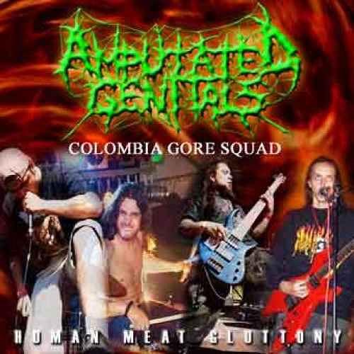 Amputated Genitals, Imagenes de Bandas de Metal & Rock Colombianas