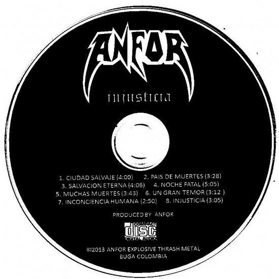 Anfor, Imagenes de Bandas de Metal & Rock Colombianas