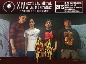 Animal Mind, Bandas de Thrash Groove Metal  de Bogotá.