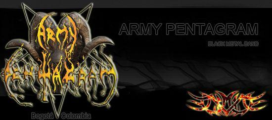 Army Pentagram, Imagenes de Bandas de Metal & Rock Colombianas