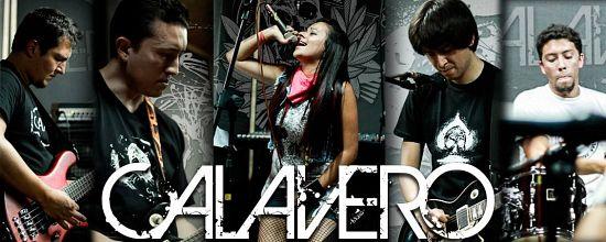 Calavero, Imagenes de Bandas de Metal & Rock Colombianas