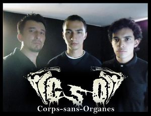 Corps Sans Organes, Bandas de Death Metal de Bogota.