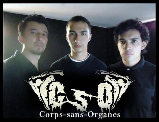 Corps Sans Organes, Imagenes de Bandas de Metal & Rock Colombianas