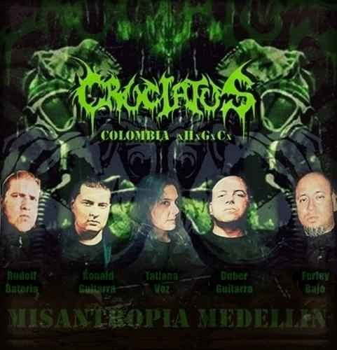 Cruciatus, Imagenes de Bandas de Metal & Rock Colombianas