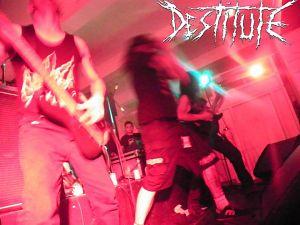 Destitute, Bandas de Crust Punk, D-beat, Hardcore, Grindcore de Bogotá.