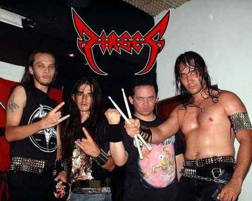 Dirges, Imagenes de Bandas de Metal & Rock Colombianas